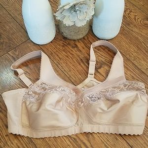 NWOT Glamorise Magic Lift Cotton Bra (Sz 42B)